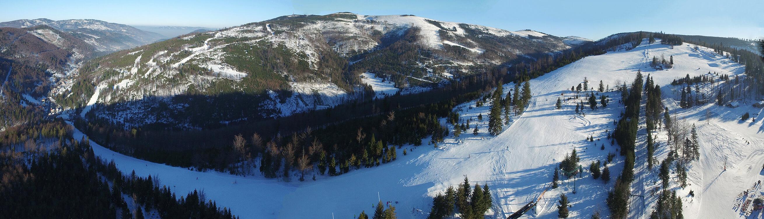 Panoramy z drona