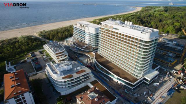 Hotel Radisson z lotu ptaka viadron.pl